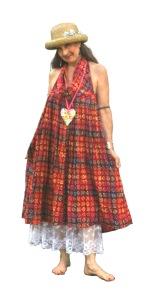 DSC_0407 - repurpose skirt into boho dress